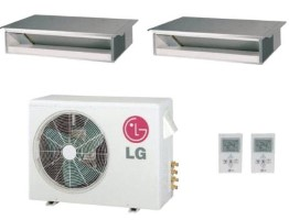 LG LMU18CHV  LMDN095HV (TWO) 18000 BTU Heat Pump Concealed Duct Dual Zone