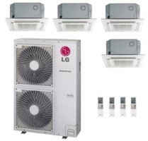LG Quad Zone LMU540HV LMCN125HV (THREE) LMCN185HV Mini Split Ceiling Cassette