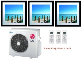 LG LMU36CHV  LMAN127HVP (THREE) Art Cool Tri Zone Air conditioner