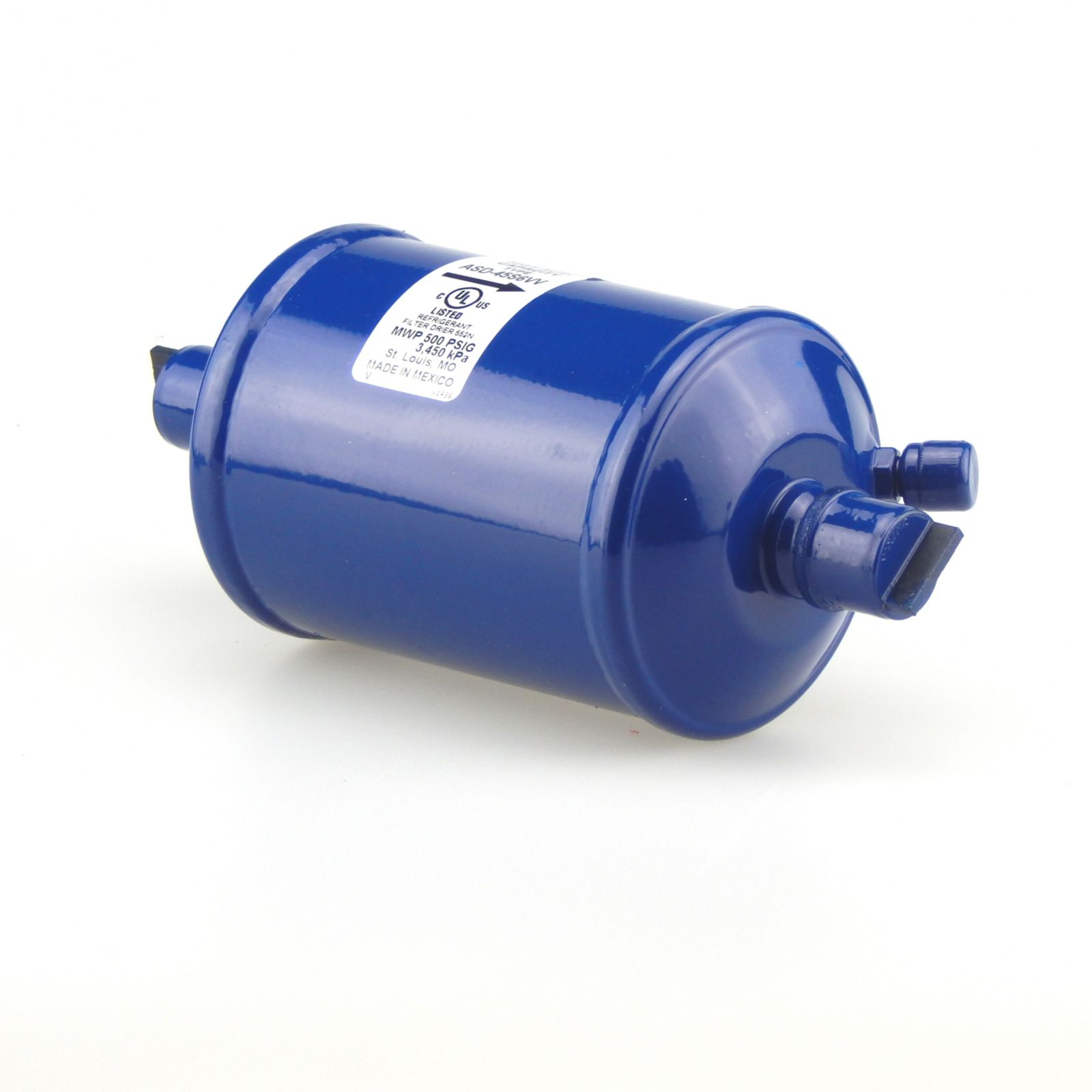 "Emerson 049172 - ASD45S6W Premium Dual Access Suction Line Filter Drier, 45 Cubic Inch, 3/4"" ODF Connection"