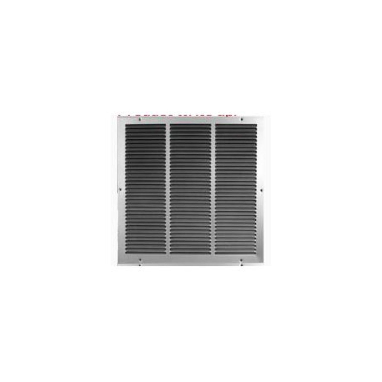 "USAIRE 140036X08 - USAire #1400 Series Return Air Grille, 36"" X 8"""