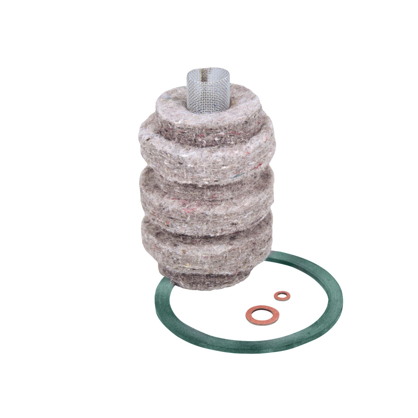 General Filters 2000 - Model 1A-30 Wool Felt Replacement Cartridges, 10 GPH Firing Rate at 10 Microns.