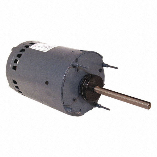 CENTURY 1/2 HP Condenser Fan Motor,Permanent Split Capacitor,850 Nameplate RPM,200-230/460 Voltage,Frame 56Y