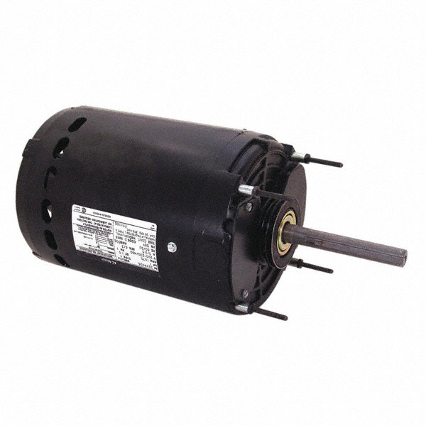 CENTURY 1 HP Condenser Fan Motor,Permanent Split Capacitor,1075 Nameplate RPM,200-230/460 Voltage,Frame 56Y