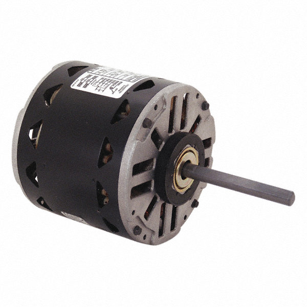 CENTURY 1/3 HP Direct Drive Motor, Permanent Split Capacitor, 1075 Nameplate RPM, 115 VoltageFrame 48Y