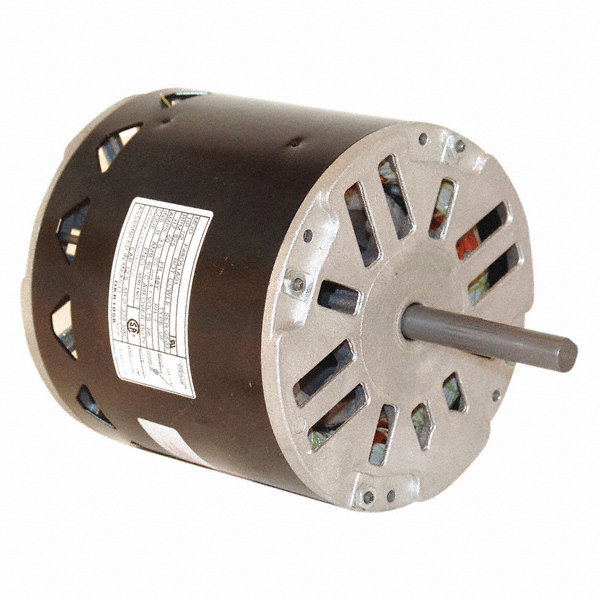 CENTURY 1/2 HP Direct Drive Motor, Permanent Split Capacitor, 825 Nameplate RPM, 230 VoltageFrame 48Y