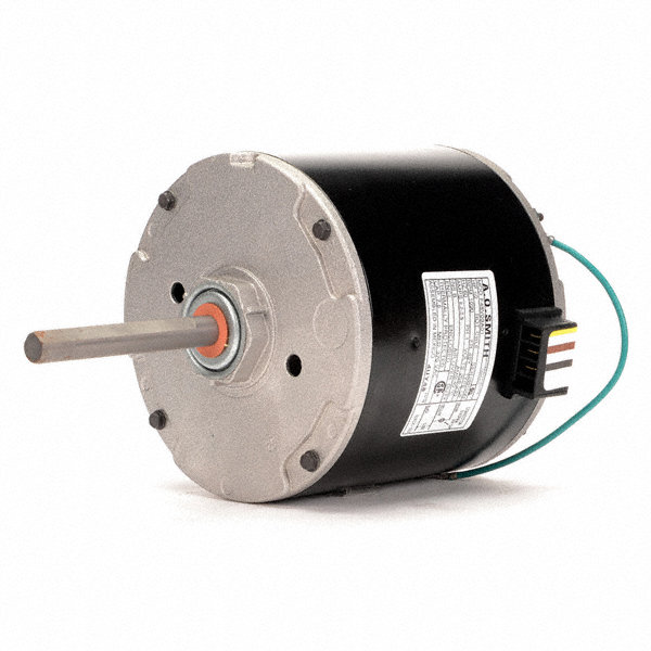 CENTURY 1/2 HP Condenser Fan Motor, Permanent Split Capacitor, 1090 Nameplate RPM, 208-230 Voltage