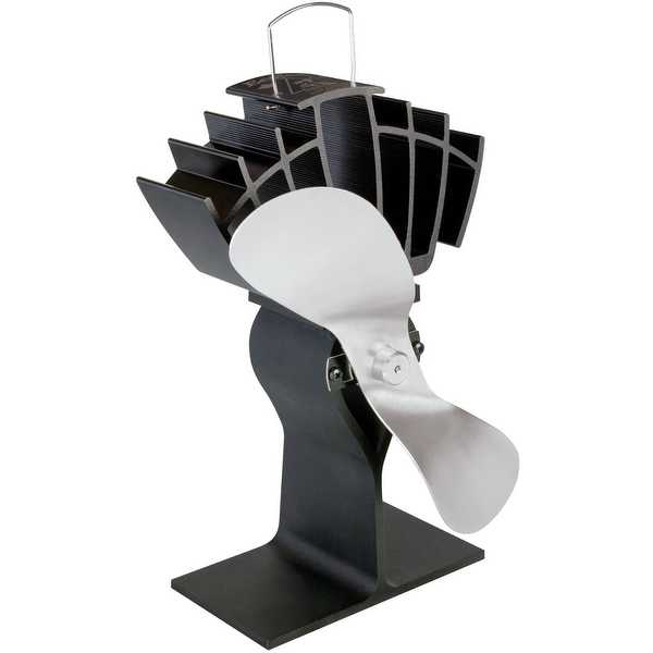 Caframo 810CAKBX Ecofan UltrAir Wood Stove Fan, 125 CFM