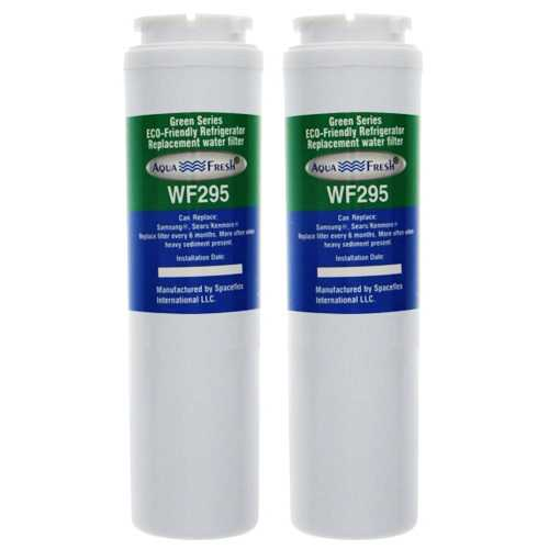 Aqua Fresh Replacement Water Filter Cartridge For Kenmore 50004 Refrigerators - 2 Pack
