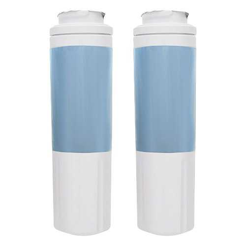 Replacement Water Filter Cartridge for Whirlpool GI6FDRXXY07 Refrigerator - (2 Pack)