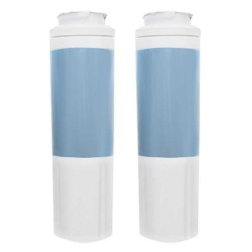 Replacement Water Filter Cartridge for KitchenAid KFIS25XVMS10 Refrigerator - (2 Pack)