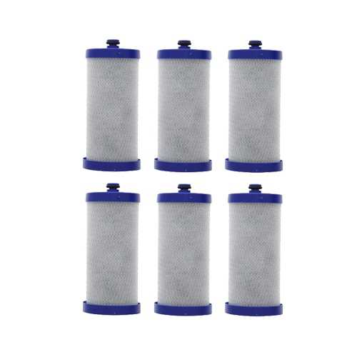 Replacement Water Filter Cartridge For Eco Aqua WF1CB - (6 Pack)