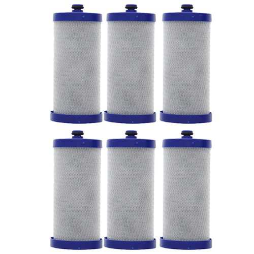 Replacement Water Filter Cartridge For AquaFresh WF1CB - (6 Pack)