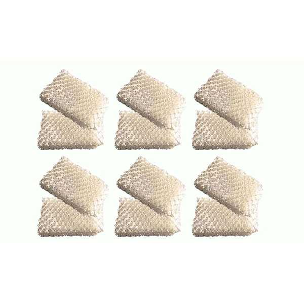 12 Honeywell HCM-525 Humidifier Wick Filters, Part # AC813, D13C, D13 - air filter