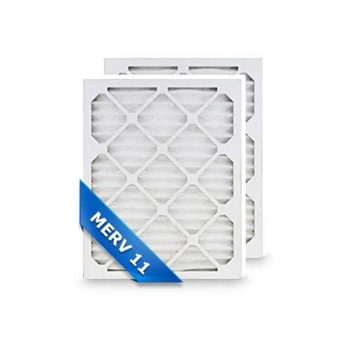 Replacement Air Filter for Honeywell 20x20x4 MERV 11 (2-Pack) Replacement Air Filter