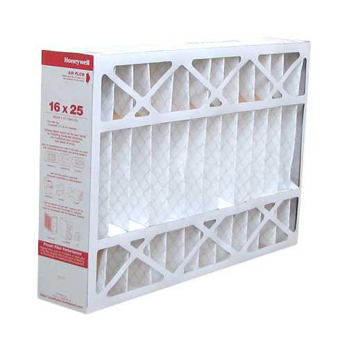 Replacement Pleated Air Filter for for Honeywell 16x25x4 MERV 11