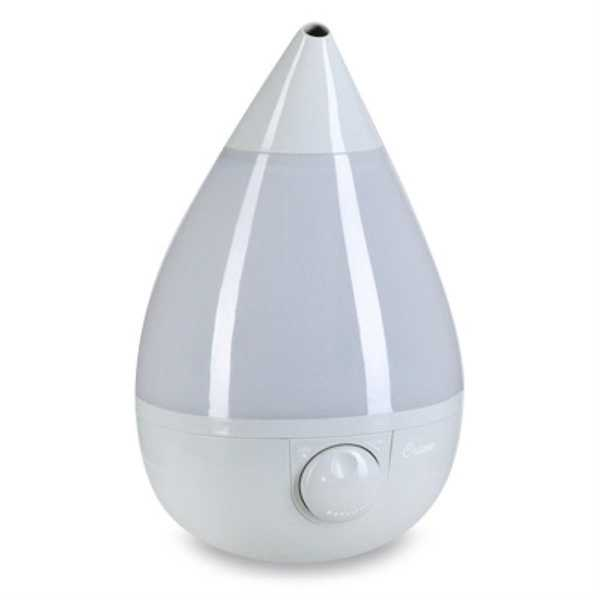 Crane Grey Drop 1 Gal. Ultrasonic Cool Mister Humidifier EE-5301GR