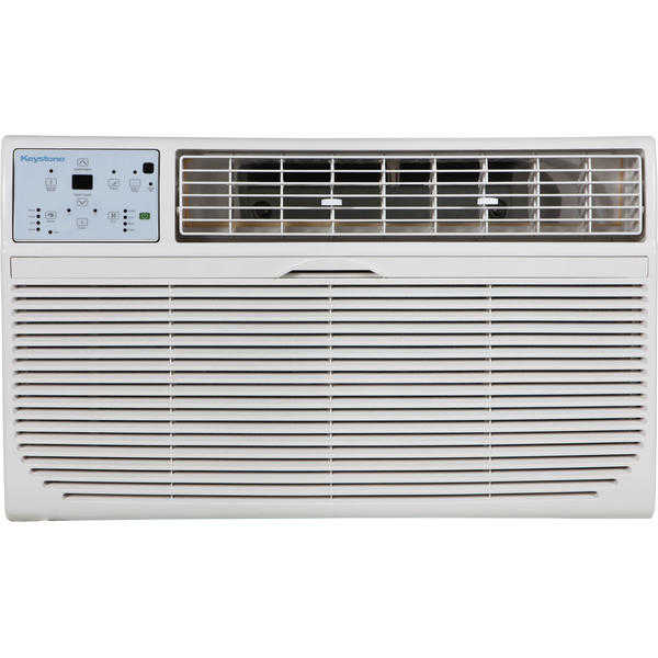 Keystone KSTAT10-1C 10,000 BTU 115V Through-the-Wall Air Conditioner with 'Follow Me' LCD Remote Control