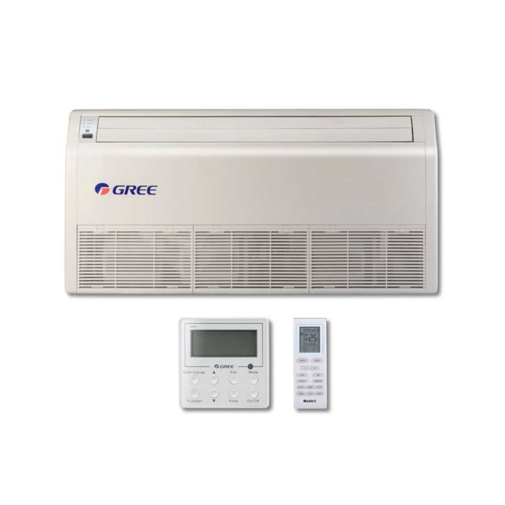 Gree MULTI42CFLR205 - 42,000 BTU Multi21+ Dual-Zone Floor/Ceiling Mini Split Air Conditioner Heat Pump 208-230V (12-18)
