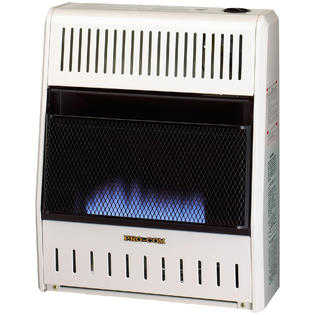 Procom MN200HBA Vent Free Natural Gas Blue Flame Space Wall Heater - 20,000 BTU, Manual Control