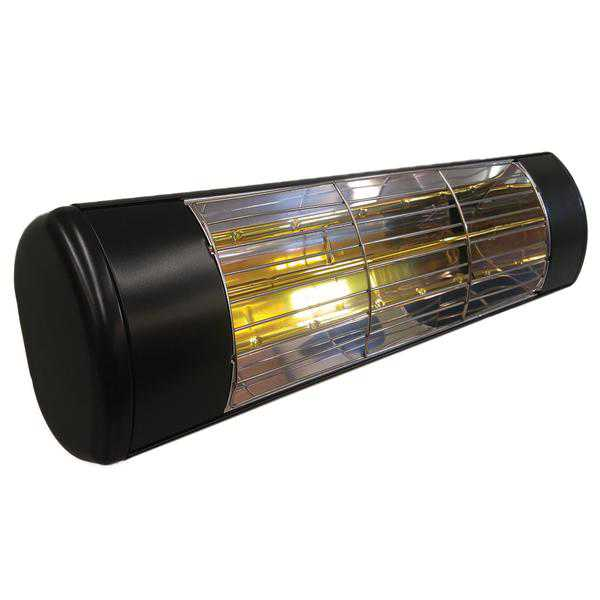 Sunheat 901115120 Wall Mount 1500W 120V Patio Heater - Black