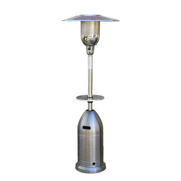 Hiland 88' Tapered Stainless Steel Finish Patio Heater