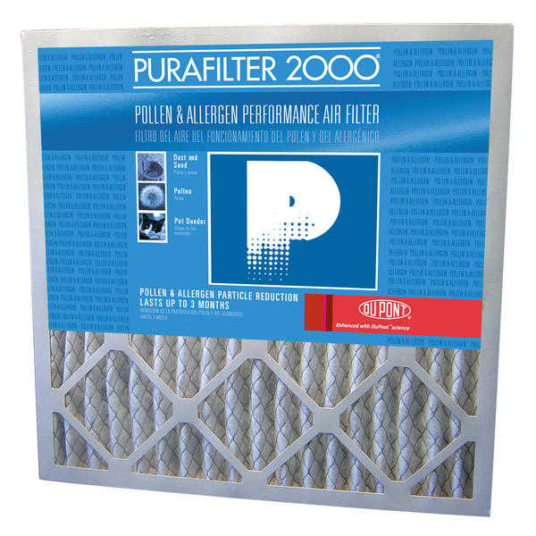 Purafilter PF2020.4 20x20x1 Furnace Filter 4-Pack