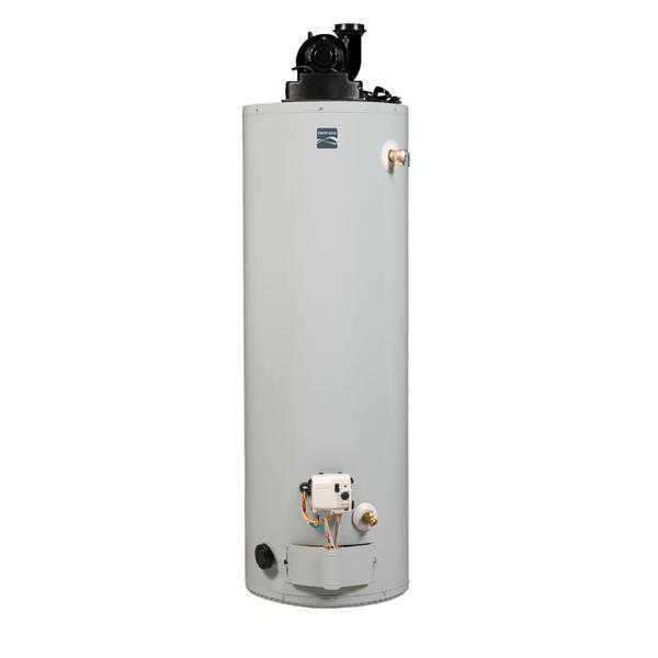 Kenmore 33136 50 gal. 6-Year Tall Natural Gas Water Heater w/ Power Vent