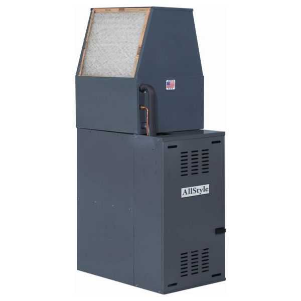 Allstyle - DFM5D-0 - Downflow Mobile Home Air Handler 3/4 HP Motor