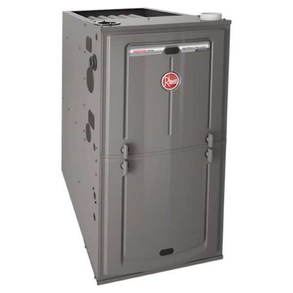 Rheem - R96VA-1152524MSA - 96% AFUE, 112K BTU, 2 Stage, Multi-Position Gas Furnace with Variable Speed ECM Motor