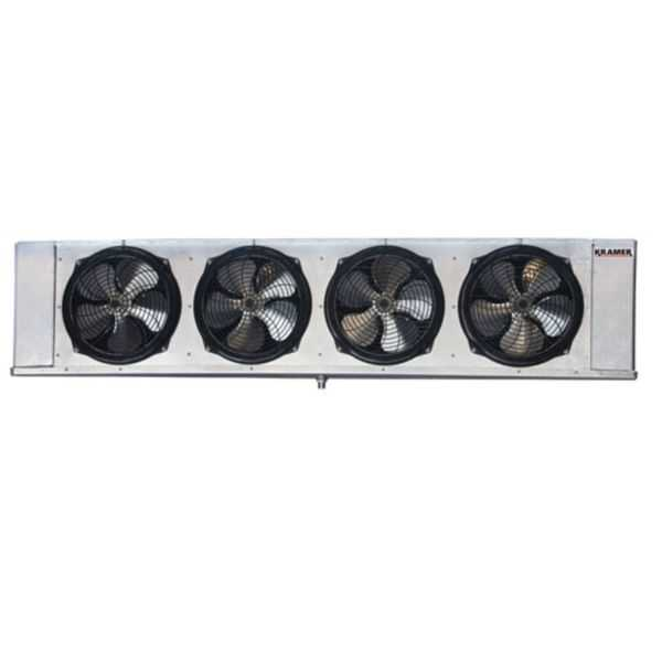 Kramer - KL6E105DPA - 10,500 BTUH - Low Profile Unit Cooler, Electric Defrost, 208-230/1/60, PSC Motor