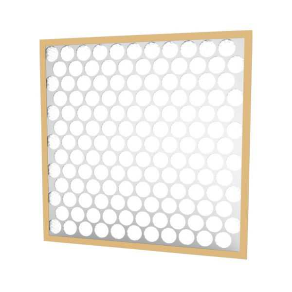 Glasfloss PTA12121 - Synthetic Heavy-Duty Disposable Panel Filter, 12' X 12' X 1'