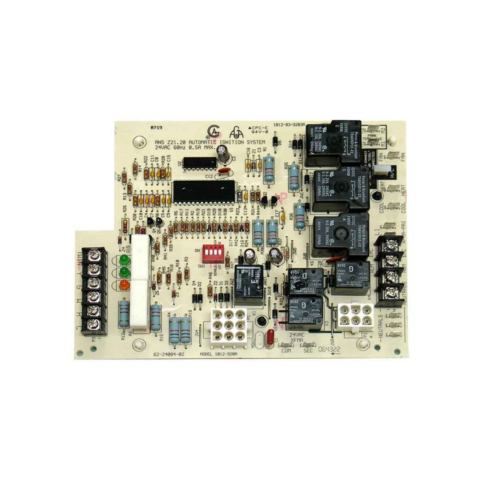 Rheem 62-24084-82 - Integrated Furnace Control Board (IFC), Gas Codes DC, DH