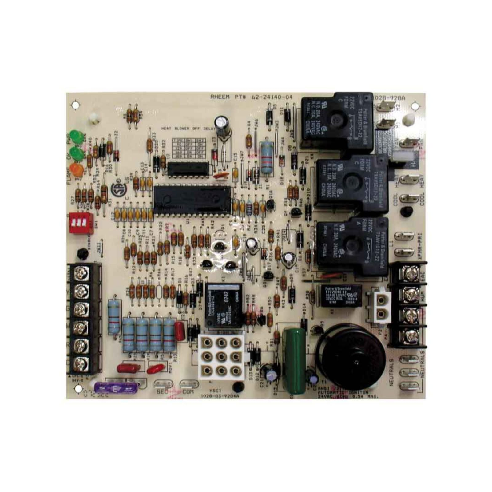 PROTECH 62-24140-04 - Integrated Furnace Control Board (IFC), Gas Codes EJ, EL, FY