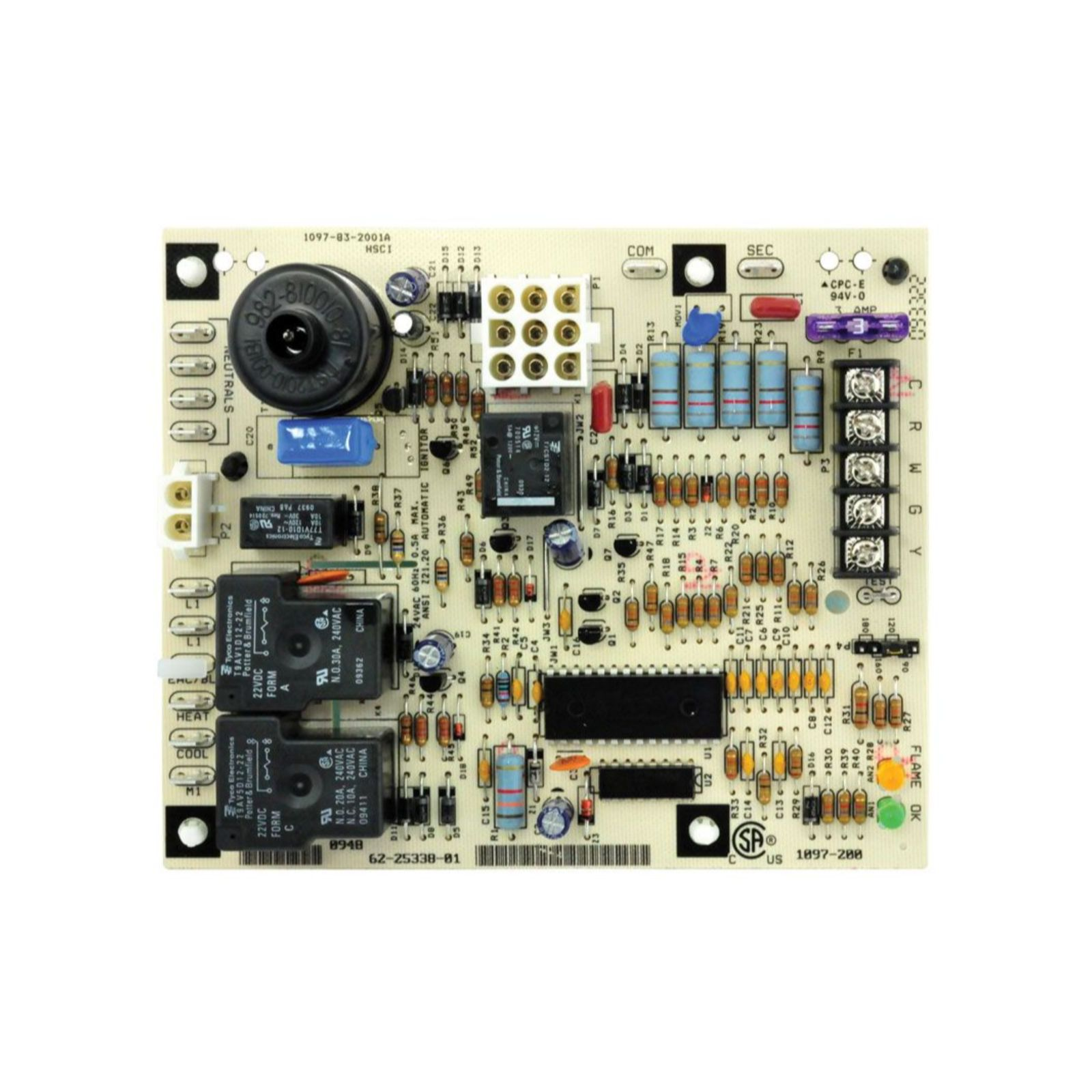 UTEC 62-25338-01 - Integrated Furnace Control Board (IFC)