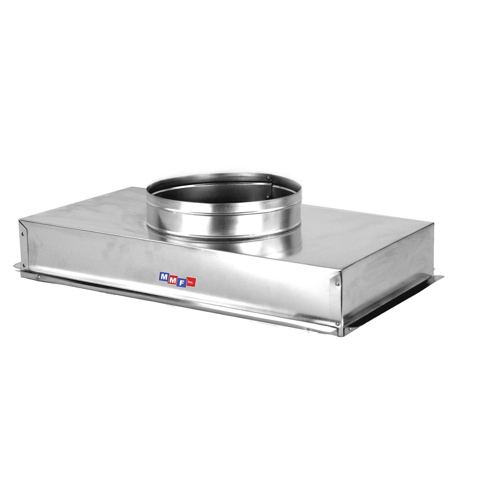 "Modular Metal ACRH2414AS - Return Air Can - 28 Gauge - Raw - Seal All Seams24 1/4"" X 14 1/4"" Uninsulated - 4"" High"