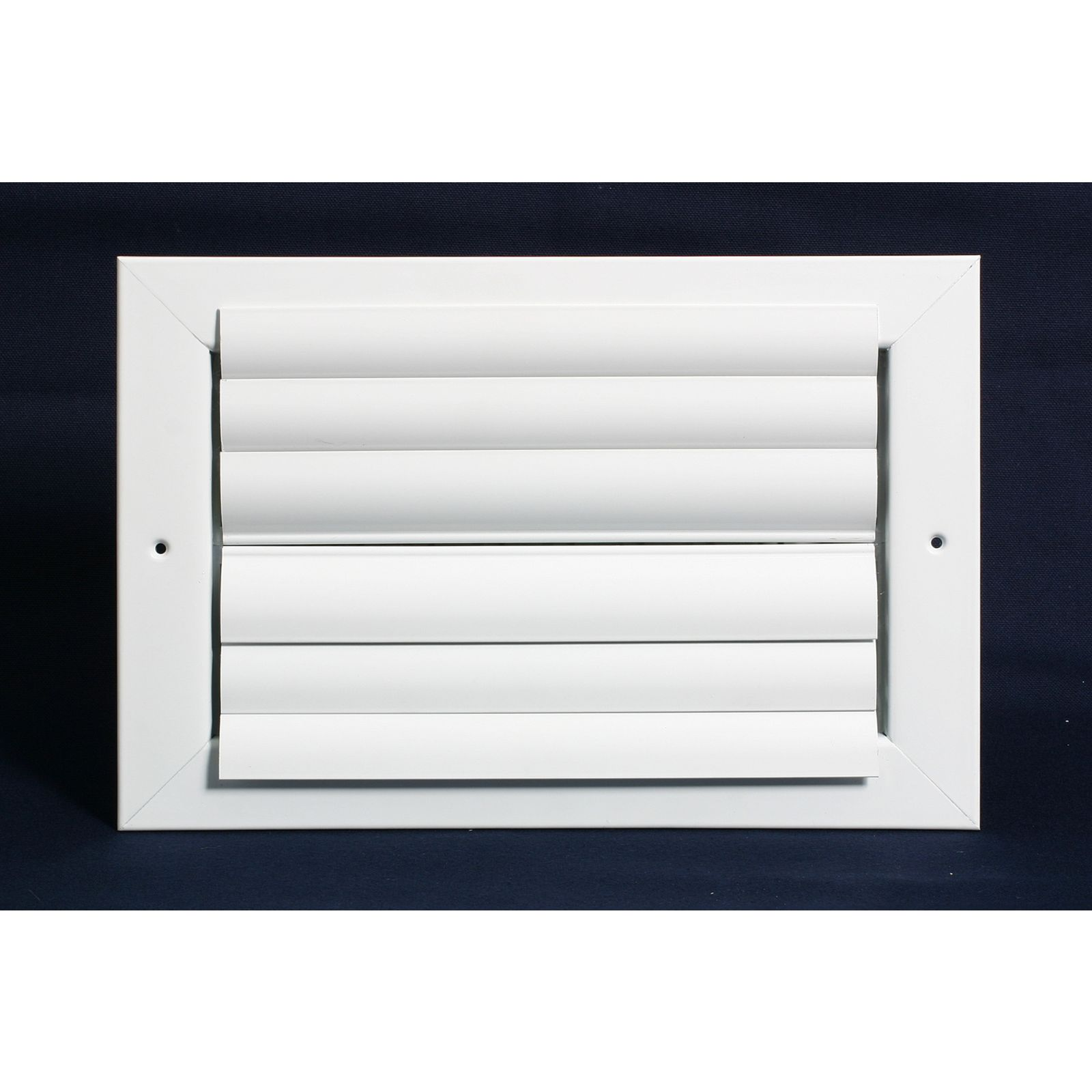 "Grille Tech CL2M1010 - Aluminum Ceiling 2-Way Deflection Supply, Multi-shutter 10"" X 10"" White"