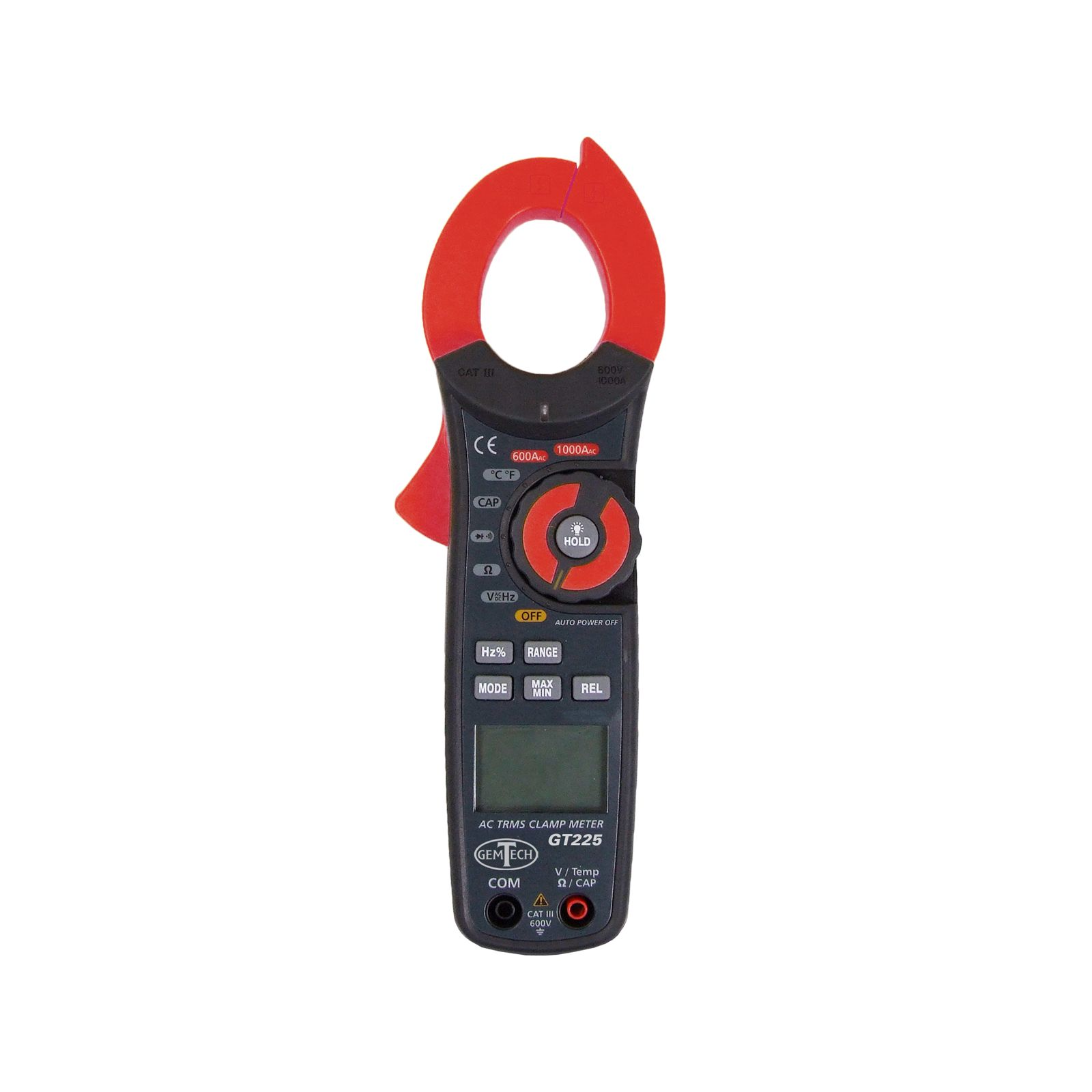 GemTech GT225 - Clamp-on Meter