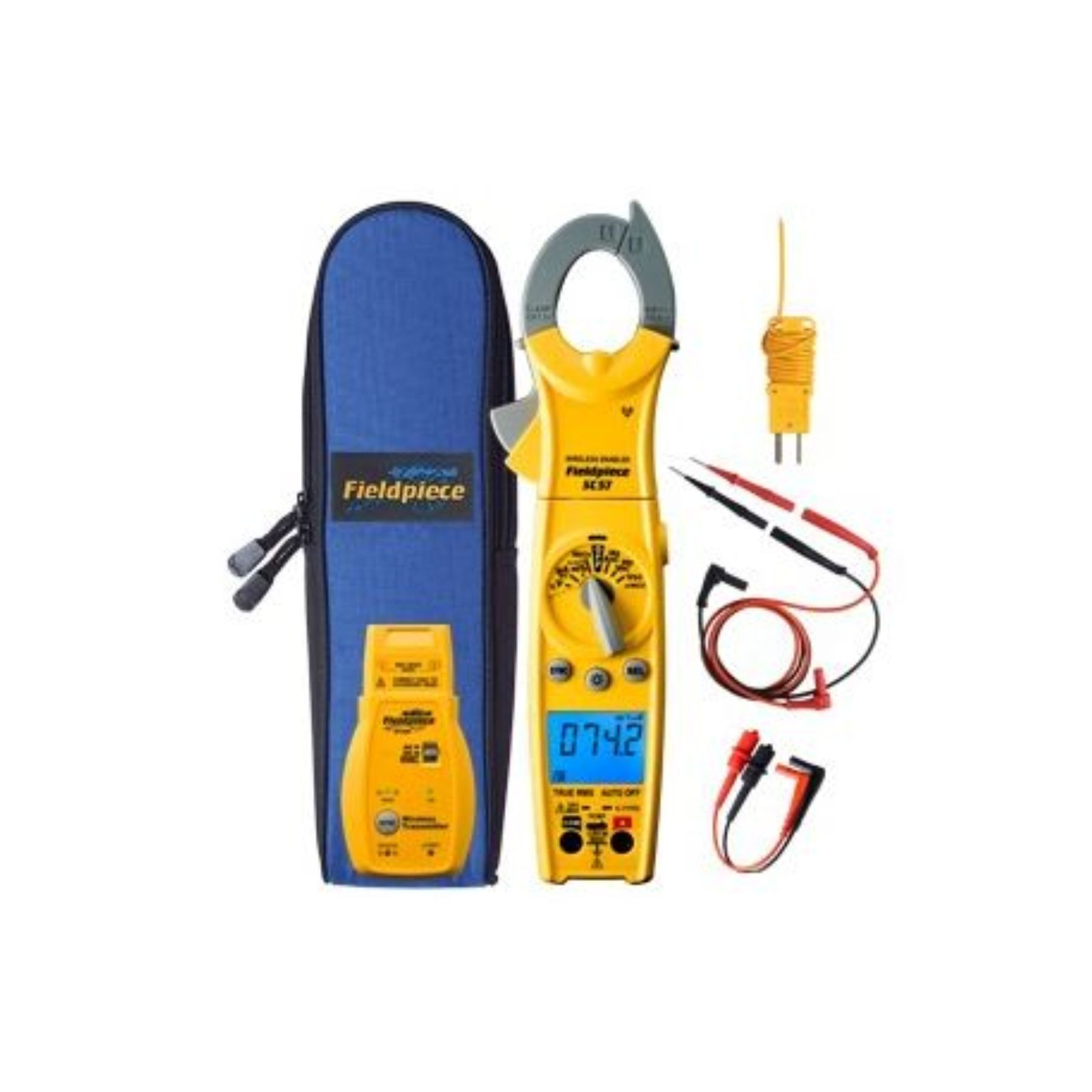 Fieldpiece SC57 - Wireless Swivel Clamp Meter with Transmitter for HVACR Professionals